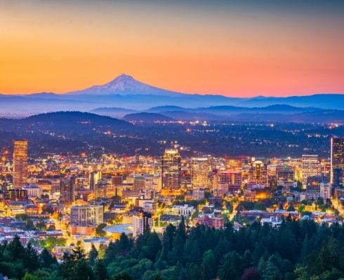 The Weather in Portland Oregon