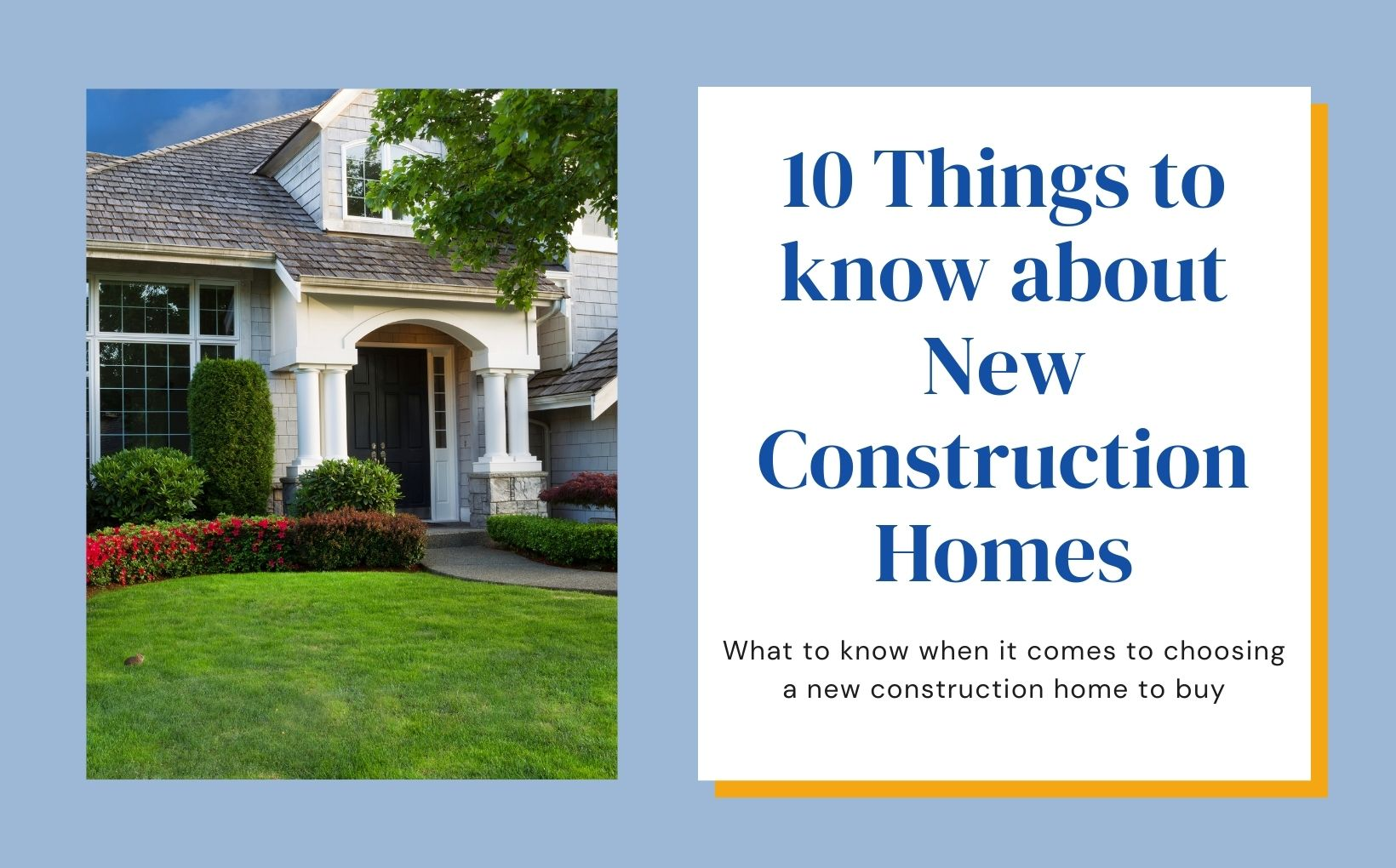10 things to know about new construction homes in Portland Oregon feature image