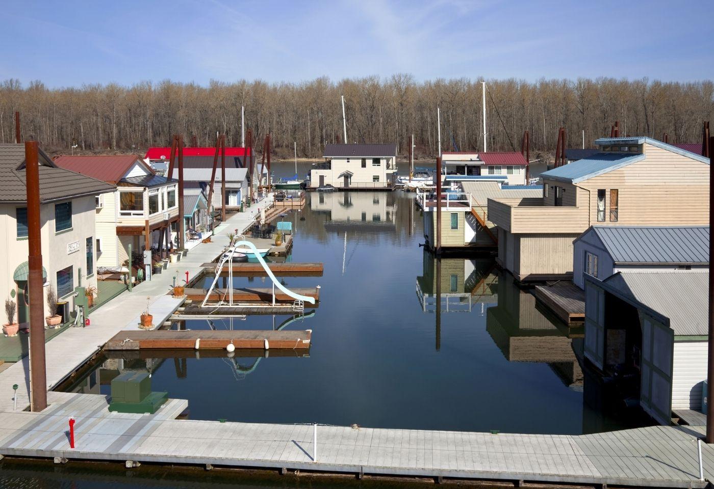 image of Floating Homes in Portland Oregon