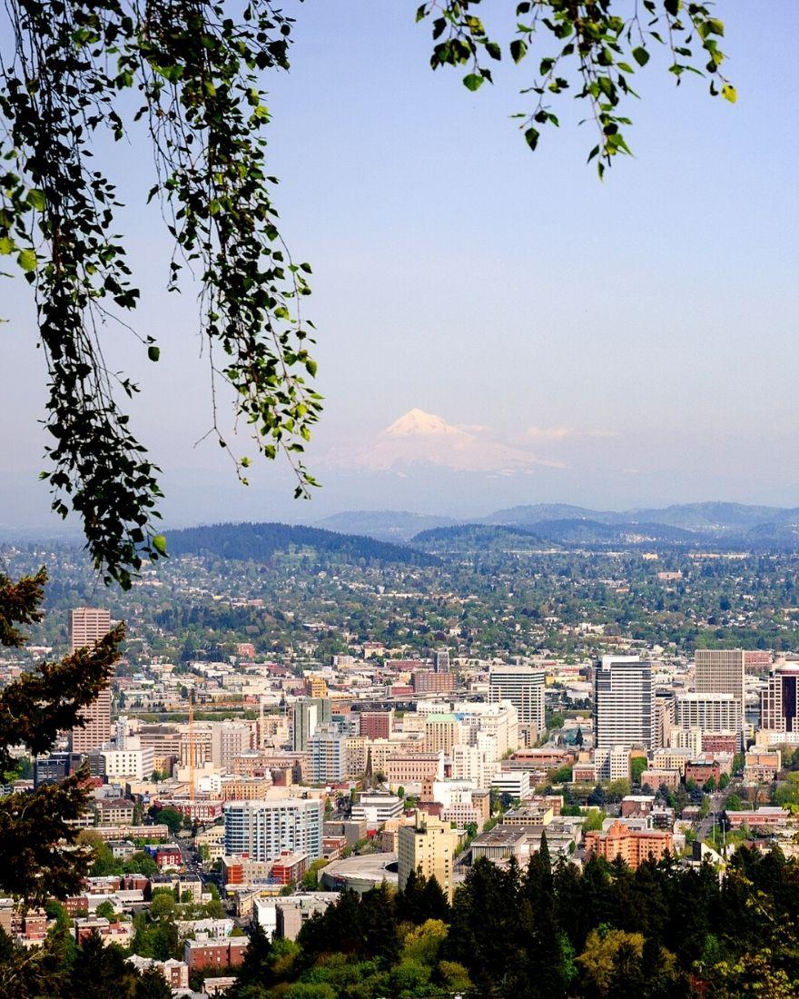 view of Multnomah County of Portland Oregon