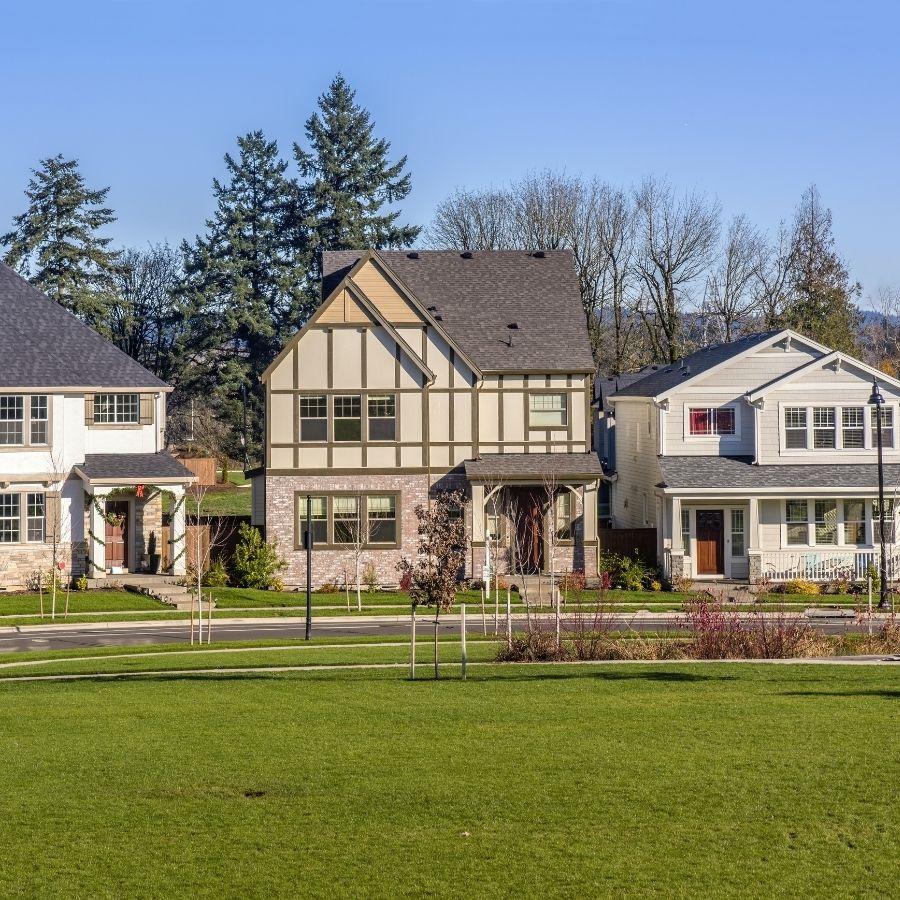 Wilsonville homes, Portland Suburbs west of the Willamette Riber