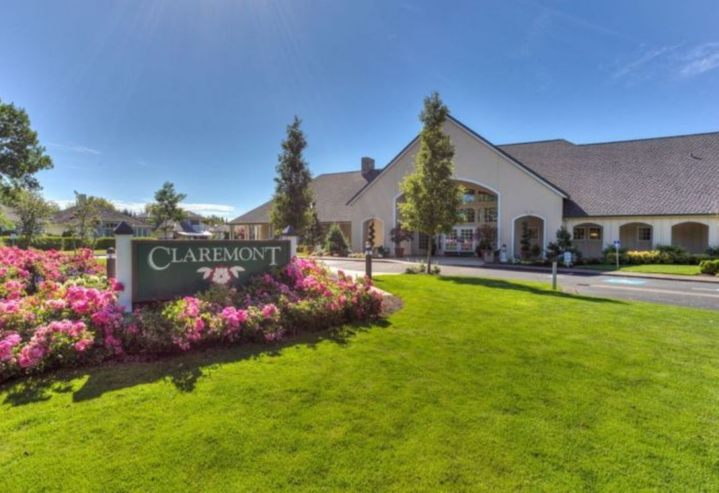 Claremont entrance of Oregon